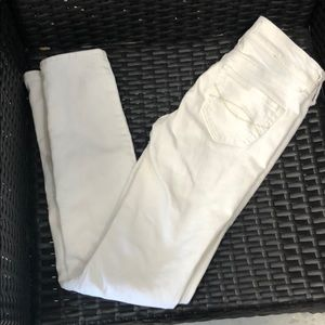 Abercrombie Kids White skinny Jeans-Size 12